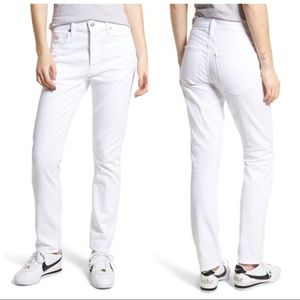 CITIZENS OF HUMANITY COREY SLOUCHY JEANS WHITE